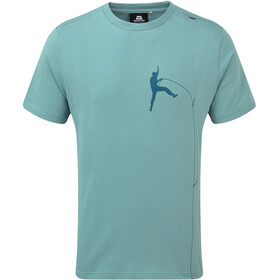 Mountain Equipment Portland Tee Men Goblin Blue